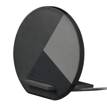 Dock Marquetry Wireless Charger - Slate