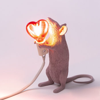 Mouse Lamp - Standing - Love