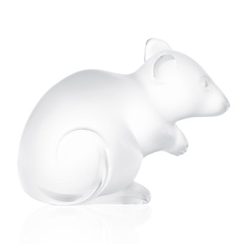 Mouse Figure - Clear