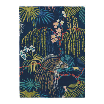 Rain Forest Rug - Tropical Night