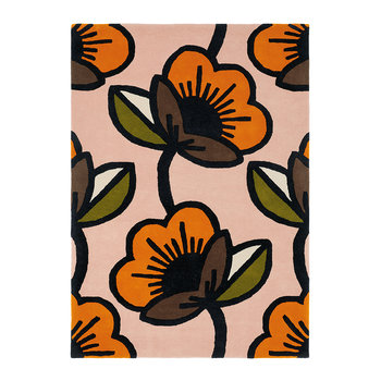 Passion Flower Rug - Pink