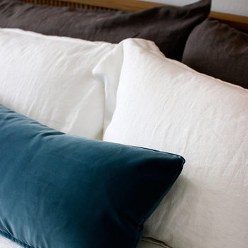 Luna Linen Pillowcase - Set of 2 - White