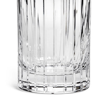 Roebling Cut Crystal Highball Glass