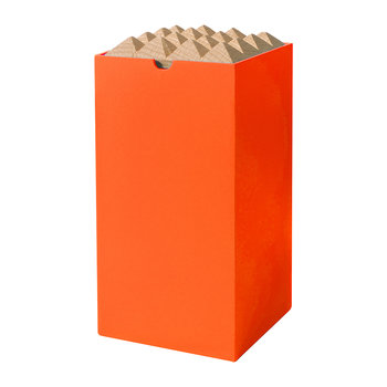 Pyramid Box - Large - Neon Orange