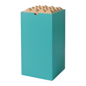 Pyramid Box - Large - Turquoise