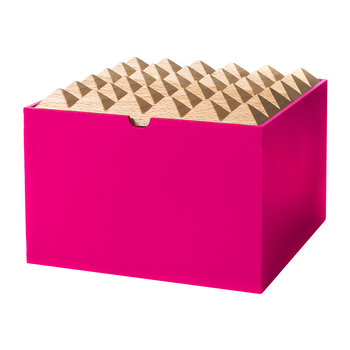Pyramid Box - Extra Large - Neon Pink