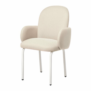 Dost Dinner Chair - Ivory