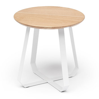 Shunan Side Table - Tall - White