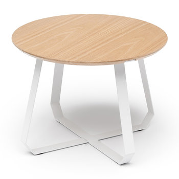 Shunan Side Table - Short - White