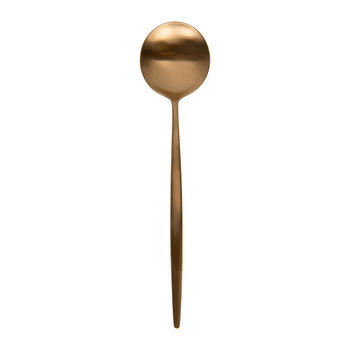 Moon Teaspoon - Matt Copper