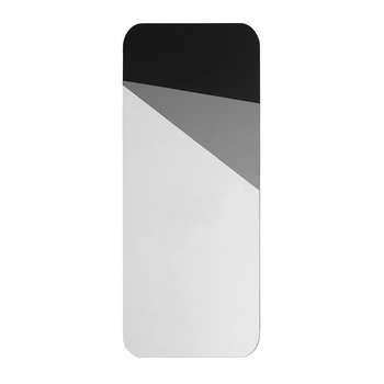 Geometric Mirror - Grey/Black