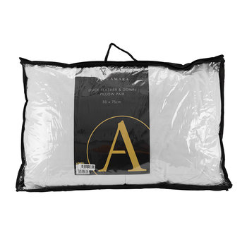 Duck Feather & Down Pillow - Set of 2