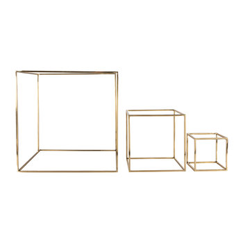 Geo Decor Cubes - Set of 3