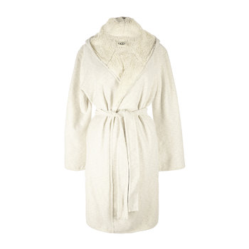 Women's Portola Reversible Robe - Cream Heather