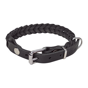 Braided Central Park Collar - Black