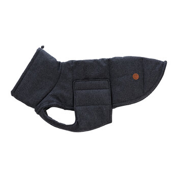 Waterproof Brooklyn Dog Coat - Graphite