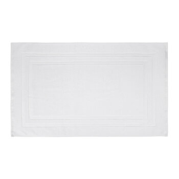 Pima Bath Mat - White