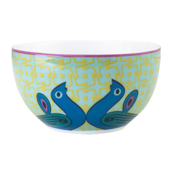 Birds of Paradise Snack Bowl