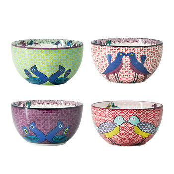 Birds of Paradise Snack Bowl - Set of 4