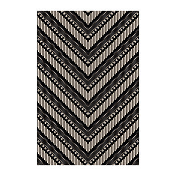 Arrow Vinyl Floor Mat - 99x150cm