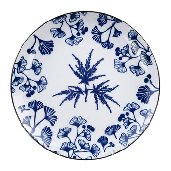 Flora Japonica Dinner Plate - Maple
