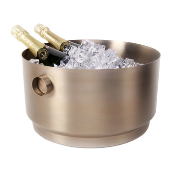 Rondo Stainless Steel Party Bucket - Soft Copper