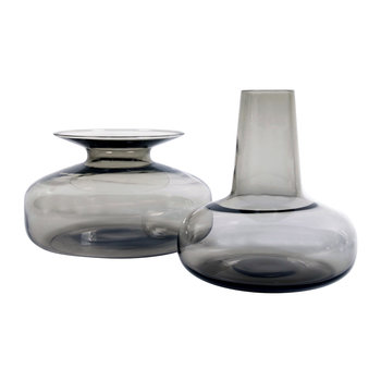 Host Carafe and Vase Set - Smoke Grey