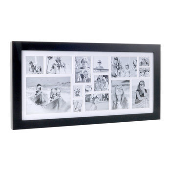 Multi Image Rectangle Frame - Coffee Bean