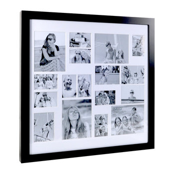 Multi Image Square Frame - Coffee Bean