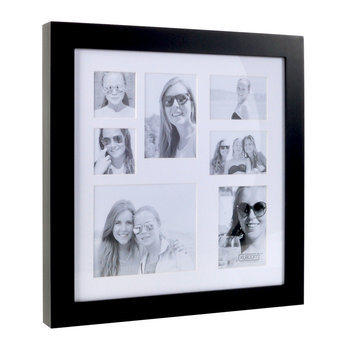 Small Multi Image Square Frame - Coffee Bean