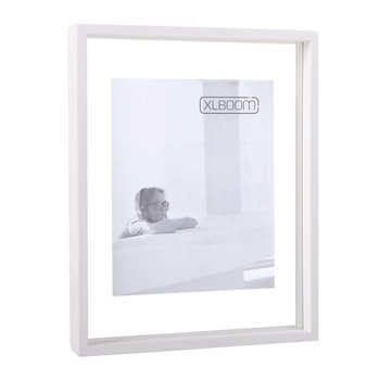 Floating Photo Frame Box - White