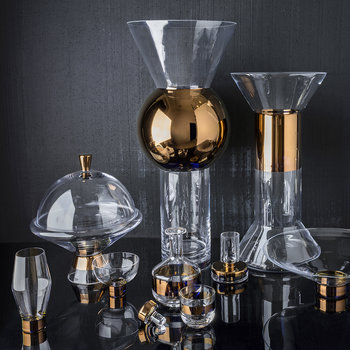 Tank Copper Whiskey Glass Set