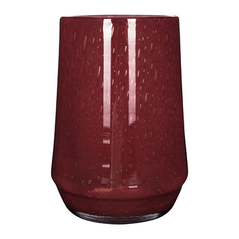 Clemence Tall Vase - Red