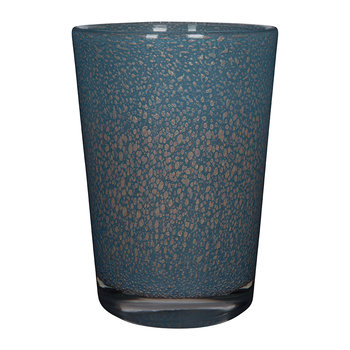Rose Vase - Gold/Blue