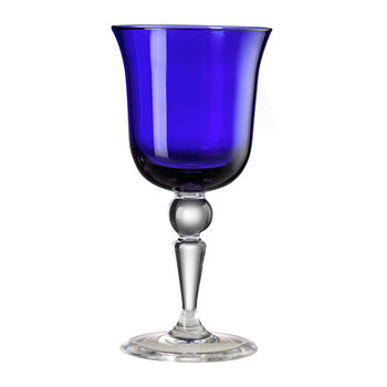 St Moritz Water Glass - Royal Blue