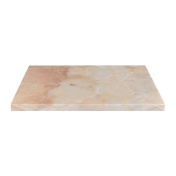 Pink Marble Rectangular Board