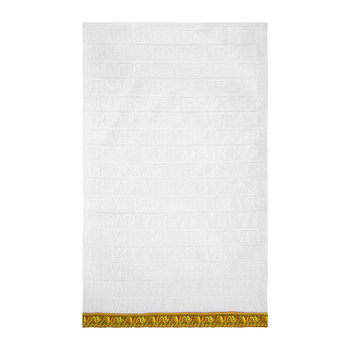 Barocco&Robe Towel - White - Face Towel