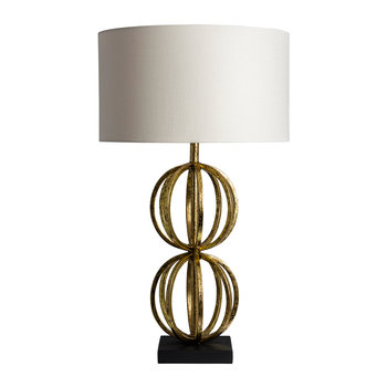 Rollo Table Lamp - Antique Gold
