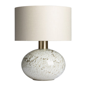 Orion Table Lamp - Suede