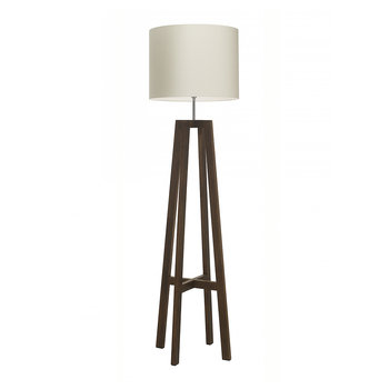 Tripod Floor Lamp - Antique Oak