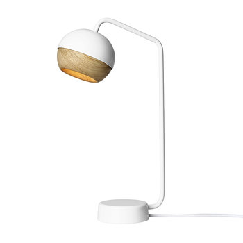 Ray Ball Table Lamp - White