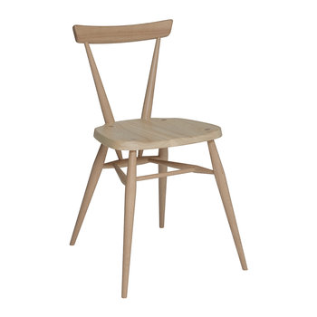 Stacking Chair - Ash Whitened