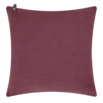 Linen Pillow Cover - 45x45cm - Bordeaux