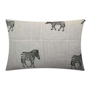 Floor Pillow Cover - 100x65cm - Zebra