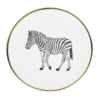 Animal Salad Plate - Zebra