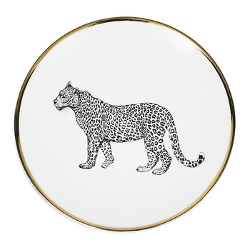 Animal Salad Plate - Leopard