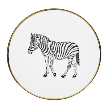 Animal Bread Plate - Zebra