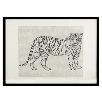 Animal Screen Print - 50x70cm - Tiger