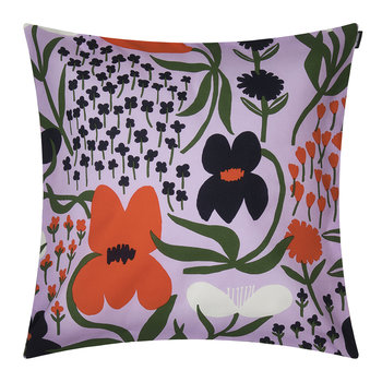 Palsta Cushion Cover - Lilac/Orange/Dark Blue - 50x50cm