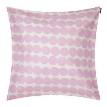 Rasymatto Cushion Cover - White/Pink - 50x50cm